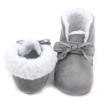 Winter Warm Kids Dress Shoes