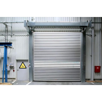 China Manufacturer for Metal Hard Fast Door Mlango Aluminum Roller Shutters Exterior Electric Door supply to Cameroon Importers