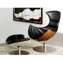Replica furniture lobster lounge chair with ottoman