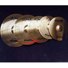 Best Quality for Professional Practice Quiet Cymbals Hot Sale Drum Cymbals Quiet Set Cymbals export to Tuvalu Factories