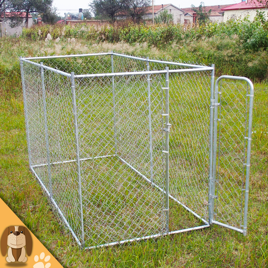 High Quality Outdoor Chain Link Dog Kennel