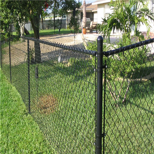 High Quality PVC Coated PVC Chain Link Fence Fabric