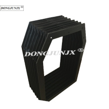 plastic rectangle protective platform cover bellows cover