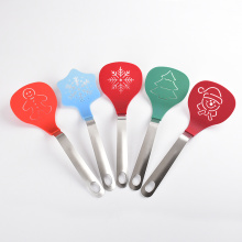Christmas Pattern Nylon Kitchen Utensils Set