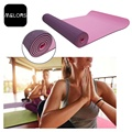 Purple + Light Pink Anti-slip Customized Yoga Fitness Yoga Mat