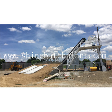 30 Mobile Concrete Batch Machine With Quality