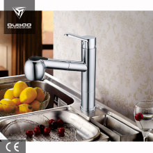 Low lead bathroom basin/kitchen pull out mixer faucet