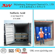 Customized Supplier for Sand Mining Chemical Industrial Use Sulphuric Acid 98 supply to Russian Federation Importers