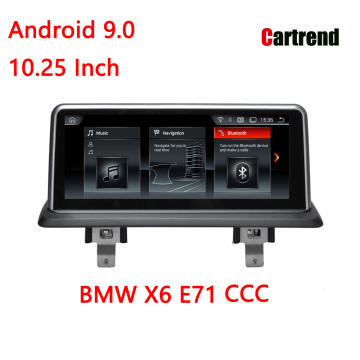 BMW X6 E71 Android автомобиль бастысы