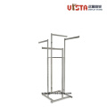 Supermarket Clothing  Stainless steel Display Rack