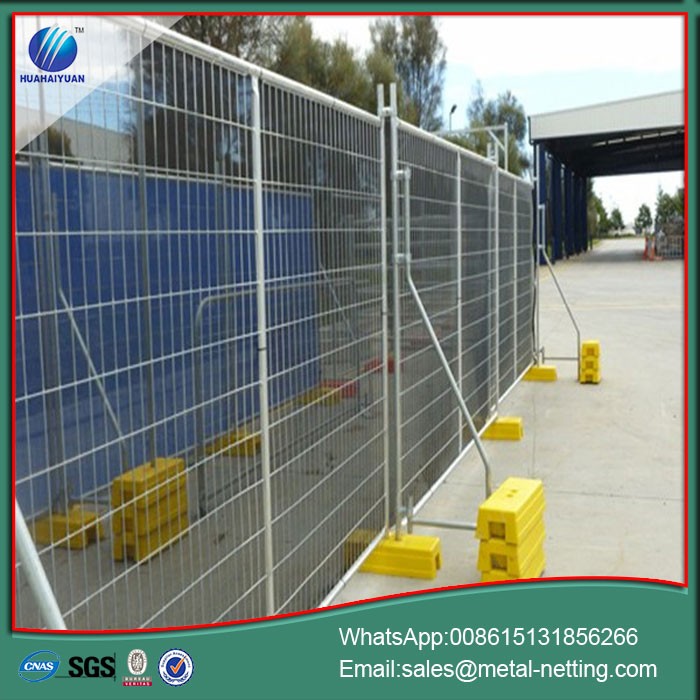 temporary welded wire fence