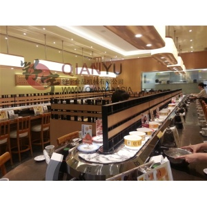 High reputation for for Sushi Belt Equipment Tabletop Chain Belt Conveyor For Sushi export to Portugal Exporter