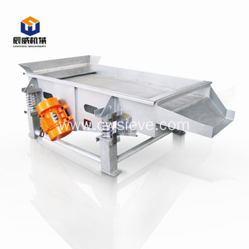 zsq series linear vibrating sieving screener