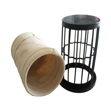Long dust filter cage with venturi For Bagfilter