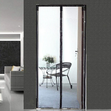 magnetic screen door curtain