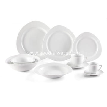 Triangle Porcelain Special Shape Dinnerware Set