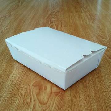 Airline lunch paper box