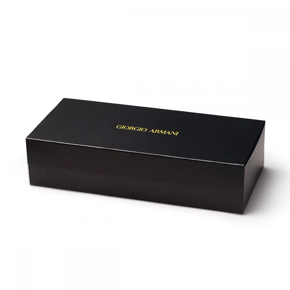 Magnetic Black Rigid Gift box With Divider