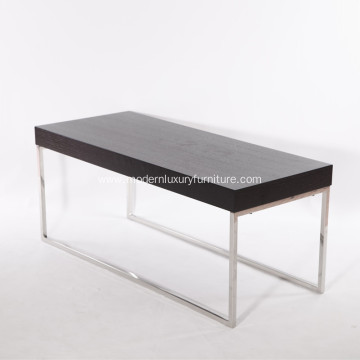 Hot New Products for Modern Glass Coffee Table MDF Veneer Modern Coffee Table export to Japan Exporter