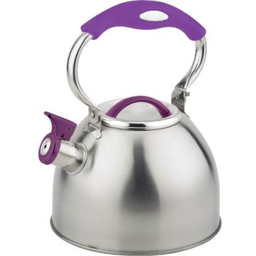The silicone handle Stainless Steel Kettle
