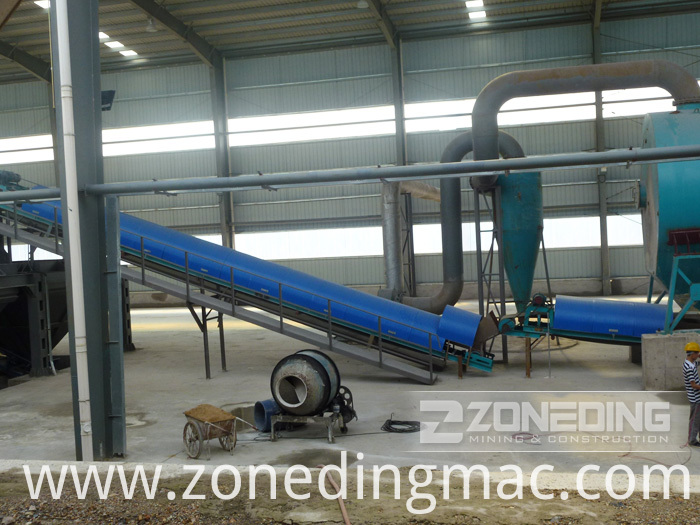 Bentonite Rotary Dryer
