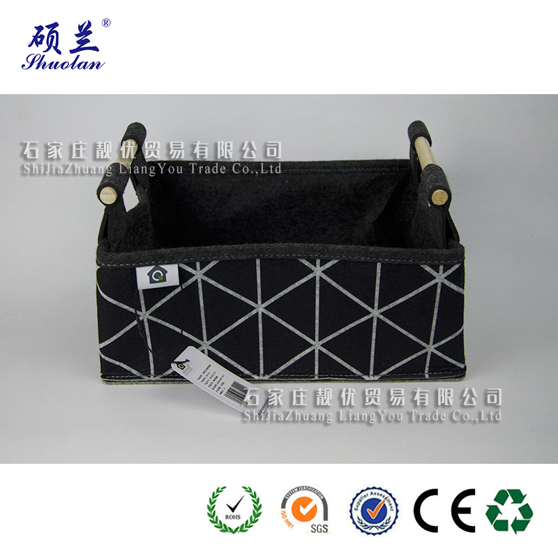 Wholesale 100 Polyester Felt Basket