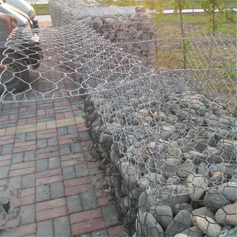 Hex Gabion Rock Cage Wall China Manufacturer