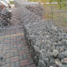 Fixed Competitive Price for Extra-Safe Storm & Flood Barrier Hex Gabion Rock Cage Wall export to Latvia Supplier