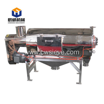 Horizontal centrifugal sieve machine for egg powder