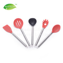Hot Sale for Silicone Cooking Utensils Professional Stainless steel handle Silicone kitchen tools supply to Armenia Manufacturer