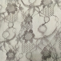 Sun Flower Pattern Nylon Lace Fabric For Garment