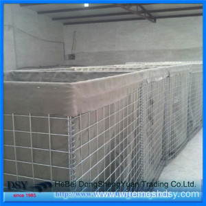 Flood Prevention Gabion Blast Wall Security System