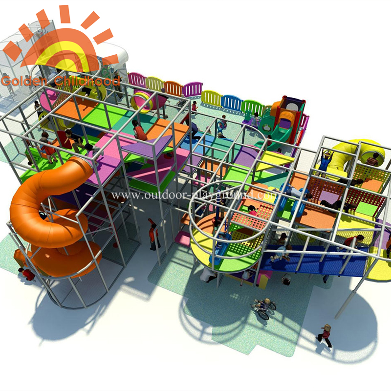 Children Large Indoor Playground Equipment