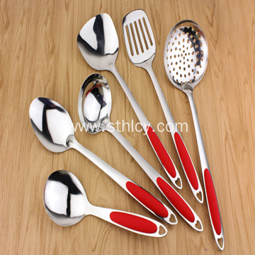 Cookware Sets Silverware Plastic Handle Rice Spoon