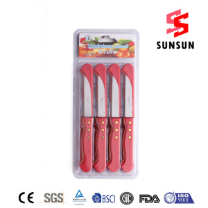 OEM Supplier for for 12Pcs Kitchen Knife Set Series 12 Piece Stainless Steel Suits Knives set Wholesale supply to Western Sahara Importers