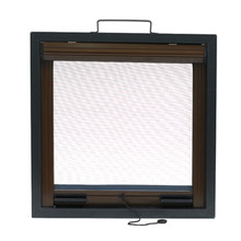 fiberglass aluminum sliding window with cushion system