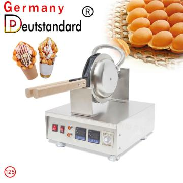 Digital egg waffle machine with stainless steel #201