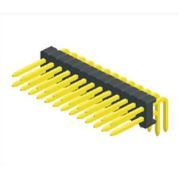 Cheap for 0.8Mm Male Header Pins 0.8mm Pin Header Dual Row right angle supply to Sao Tome and Principe Exporter