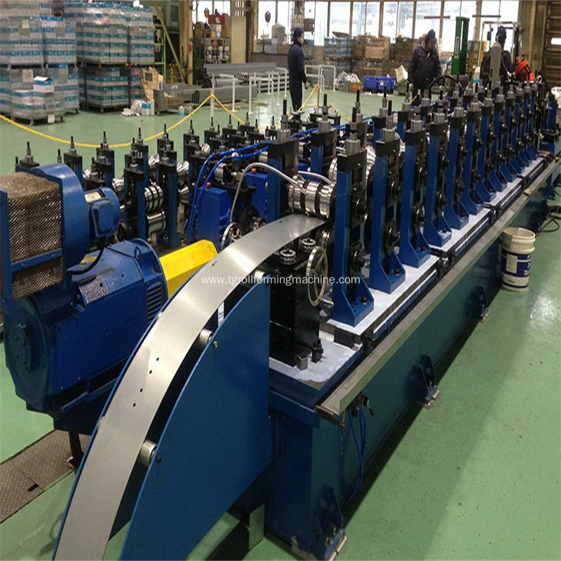 Steel Purlin U Shaped Profile Roll Forming Machine