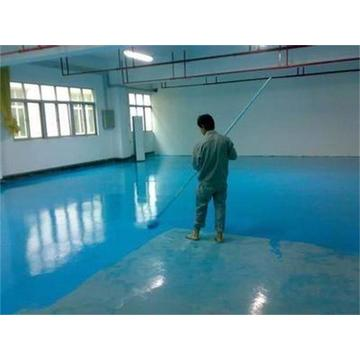 Workshop solvent-free epoxy self-leveling coating