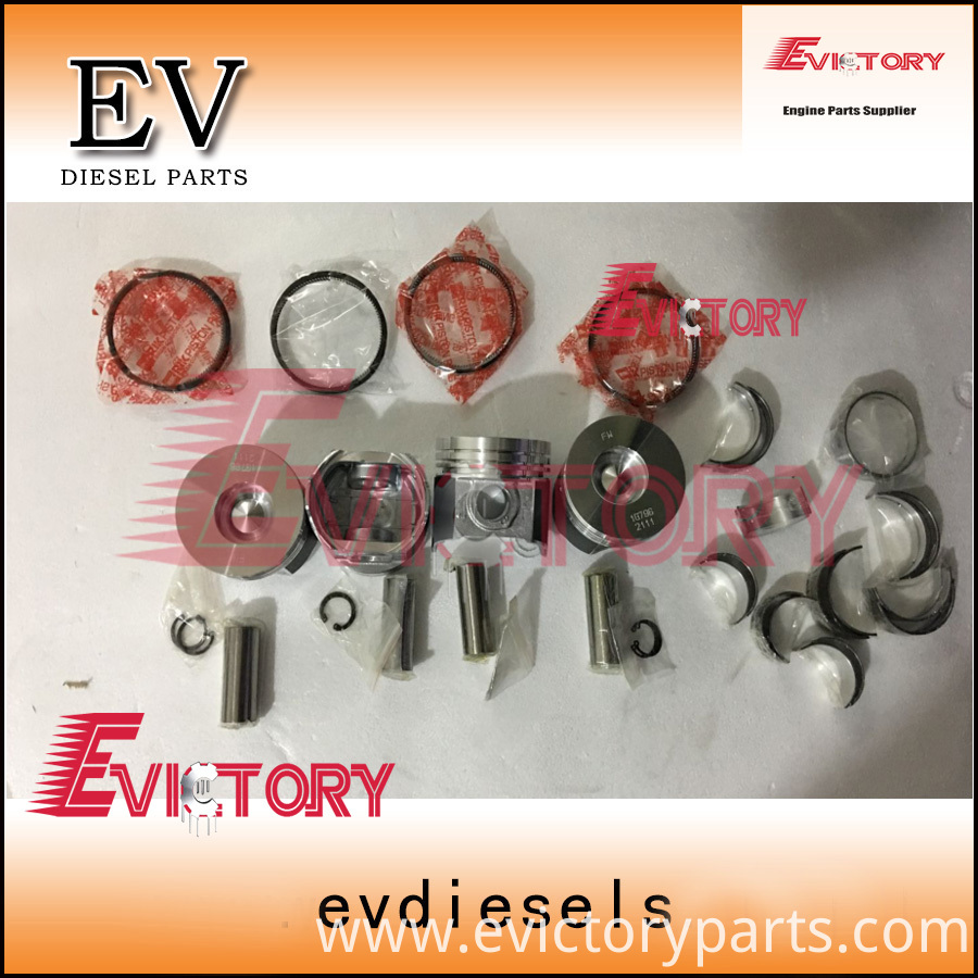 V2403 piston+ring+bearing set