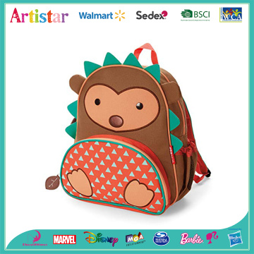 hedgehog animal modelling backpack
