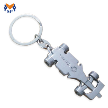 3d car shaped keychain with name
