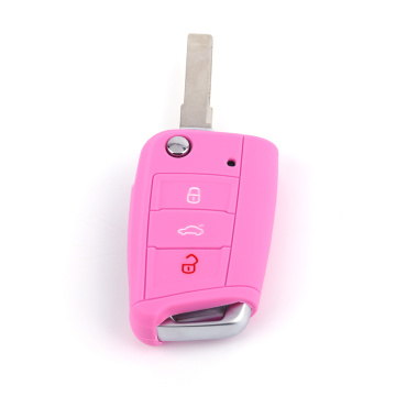 Silicone Rubber Protection Car Key Case