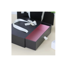 Black Drawer Handle Paper Gift Box