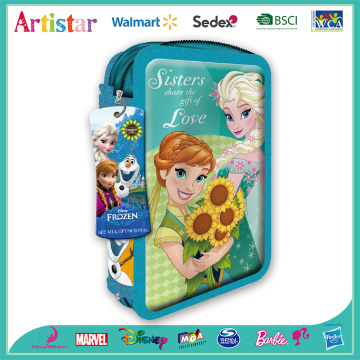 Disney Frozen 2-zipper pencil case