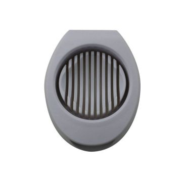 Egg Slicer with Wedger Features Stainless Steel Blades