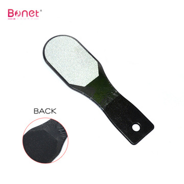 Short plastic handle big square pedicure file