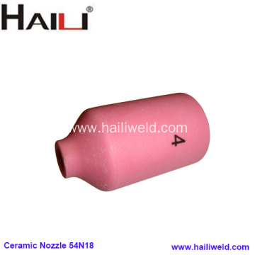 No.4 Gas Lens Ceramic Nozzle 54N18