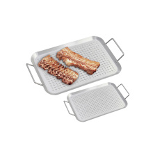 stainless steel BBQ grid pan
